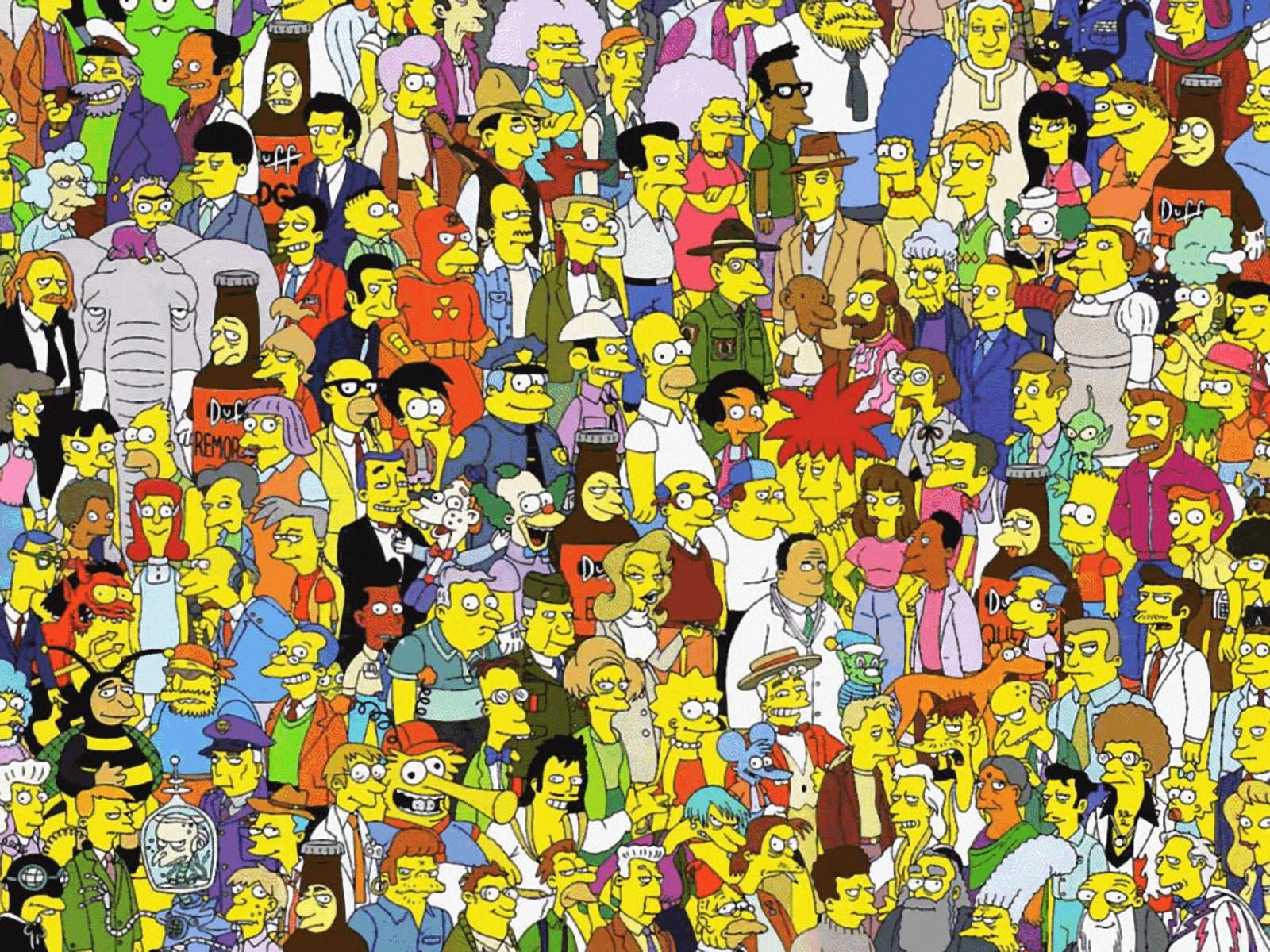 Картинка где много персонажей